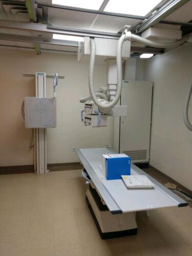 Digital X-Ray Siemens Rad Room  Image System Multix