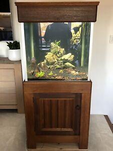 Very Large Tassie Oak Fish Tank