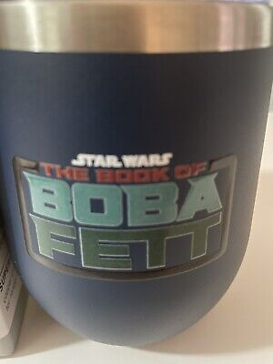 star wars the book of boba fett 12oz stainless steel tumbler limited edition