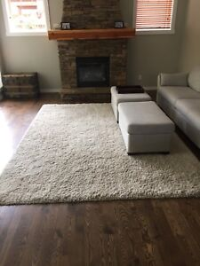 Large carpet, 8x10', very clean, off white colour