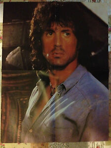 SYLVESTER STALLONE RAMBO - DOUBLE-SIDED BIG GIANT HUGE POSTER - <span itemprop=availableAtOrFrom>Gdynia, Polska</span> - SYLVESTER STALLONE RAMBO - DOUBLE-SIDED BIG GIANT HUGE POSTER - Gdynia, Polska