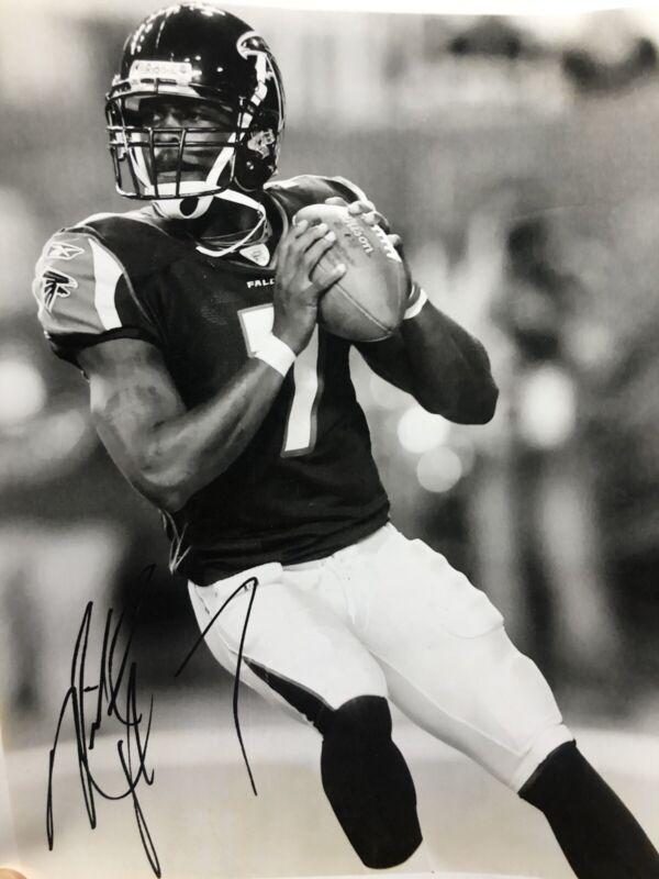 Autographed Michael Vick Photo (2004)