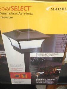Lumière de jardin ou de balcon