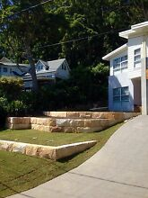 Sandstone Retaining Wall Specialist Central Coast Saratoga Gosford Area Preview