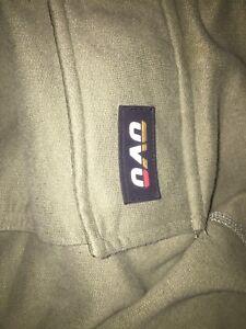 Ovo hoodie military green