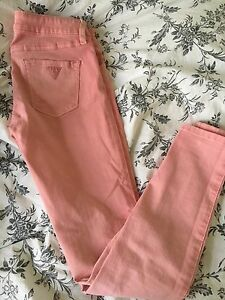 PINK GUESS JEANS - SIZE 25