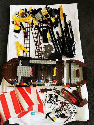 LEGO VINTAGE PIRATES 6285: Black Seas Barracuda - INCOMPLETE