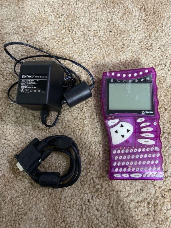 Cybiko wireless inter-tainment system PDA cy6411 *read description*