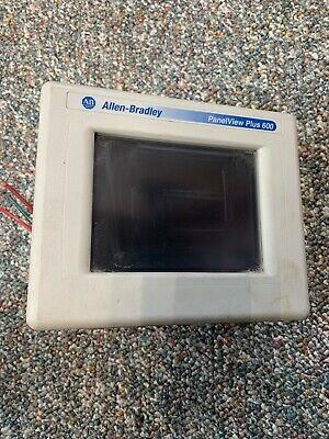 Allen-bradley Panelview Plus 600 2711p-t6c20a Ser. B