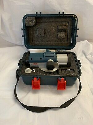 Bosch Gol 24 Professional Optical Surveyors Leveler 24x Excellent Condition