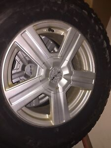 265-70-R17 Winter tires and RTX RIMS