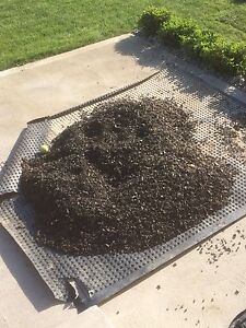 Free brown rubber mulch