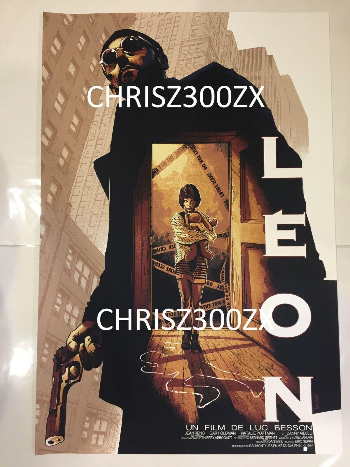 Léon Natalie Portman Vintage Movie Large Poster A0 A1 A2 A3 A4 Sizes