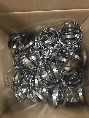 - 10x Lot FULL Stainless Steel Worm Gear Clamp Size:3 in to 3.25 inch  3