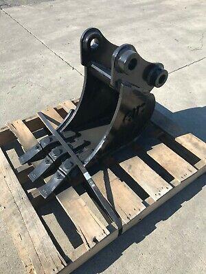 New 10 Yanmar Vio35 Heavy Duty Excavator Bucket W Coupler Pins