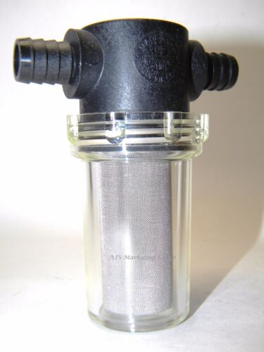 Carpet Cleaning - Inside Extractor Solution Line Hose Filter
