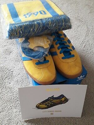 Adidas Malmo Brand New & Tagged With 2 Sets Spare Laces, Card & Tags  Scarf Sz 7