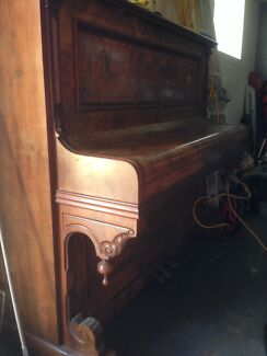 Old wooden hand crafted Piano Camden Camden Area Preview
