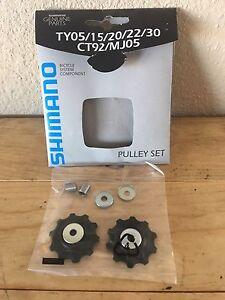 NEW Shimano Rear Derailleur Pulley Set- TY05/15/20/22/30 CT92/MJ05 Repair Kit
