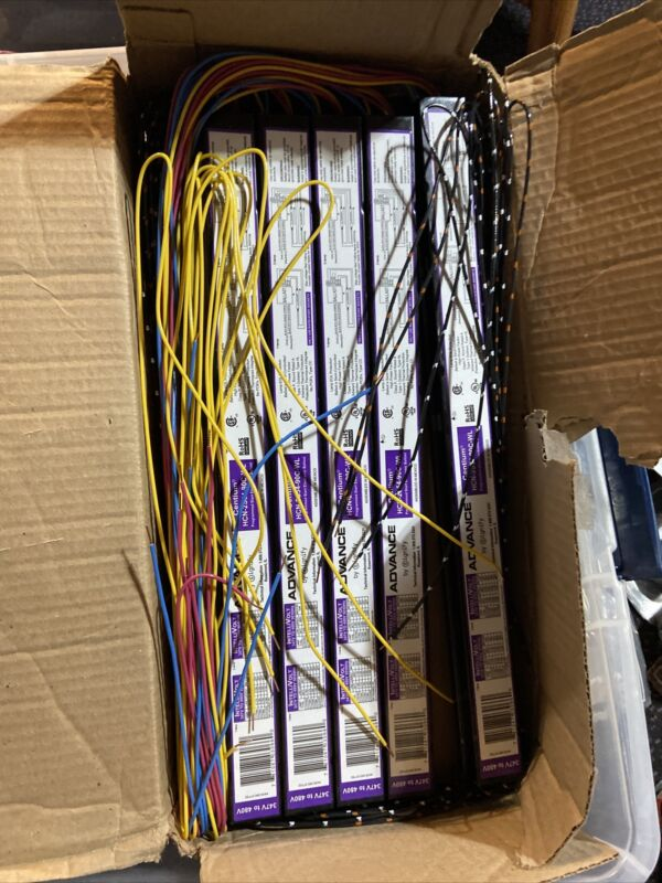 10 PHILIPS ADVANCE HCN2S5490CWL 347V-480V ELECTRONIC BALLAST 2 F54W/T5 347-480V
