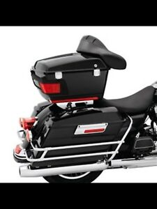 Harley Davidson solo detachable tour pack rack