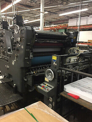 Sorsz Heidelberg Press 28 X 40 Printing Pressneed Room Price Reduced