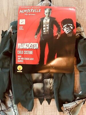NEW Rubie's Frankenstein Monster Halloween Costume Youth Child Size Small S 4-6
