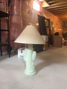Mexican cactus lamp