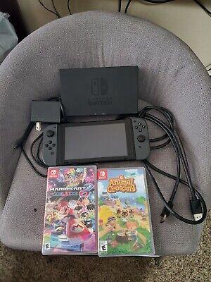 Nintendo Switch 32GB Console Bundle W/ 2 Games