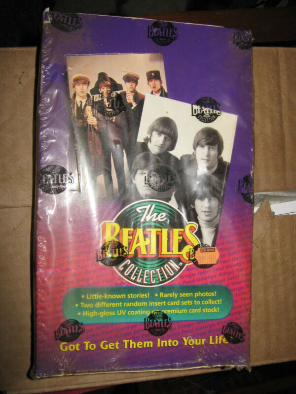 1993 River Group Beatles Collection Factory Sealed Box