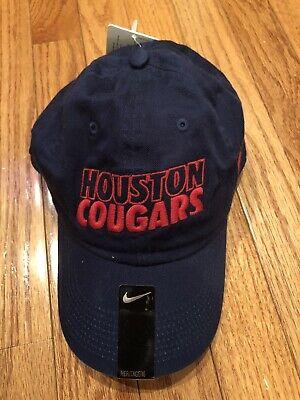 NEW Nike University of Houston Cougars Adjustable Hat Cap Heritage86 Unisex (Houston Cougars Baseball)