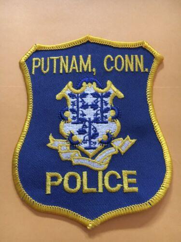 PUTNAM CONNECTICUT POLICE DEPT PATCH