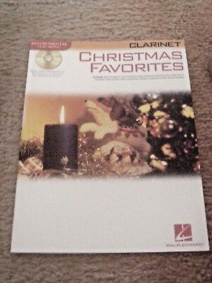 Christmas Favorites for Clarinet Instrumental Play-Along 15 Holiday Hits W/CD