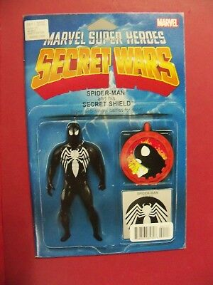 Best Spiderman Suits (SECRET WARS #001 SPIDERMAN BLACK SUIT ACTION FIGURE VARIANT (9.4 OR BETTER)  )