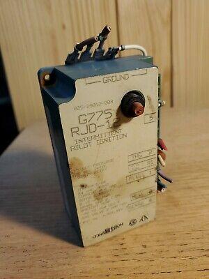 Johnson Controls Intermittent Pilot Ignition G775 Rjd-12