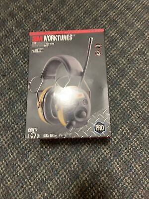 Hearing Protection Worktunes Digital Protector Earmuff Am Fm Radio Mp3 Safety