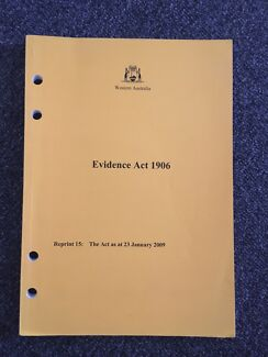 evidence act 1906