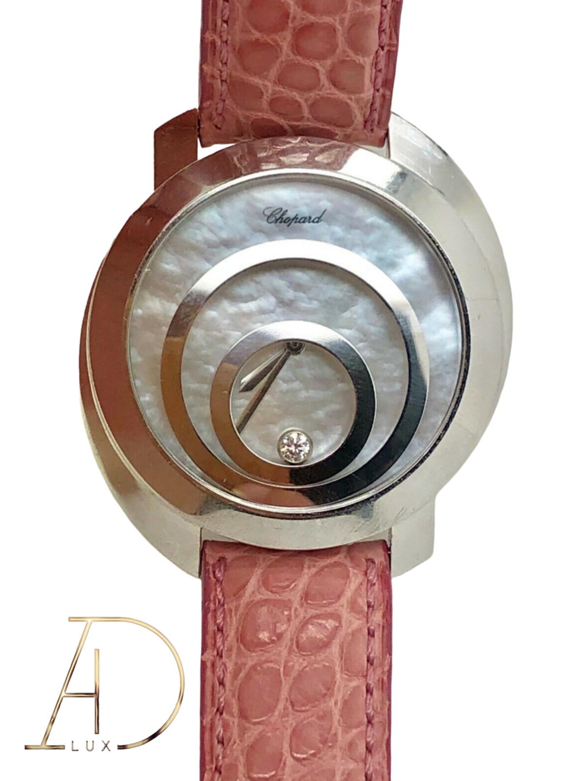 Chopard Happy Spirit 36mm Automatic Women Wristwatch – Silver