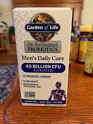 Garden of Life Dr. Formulated Probiotics Daily Care Men's 30