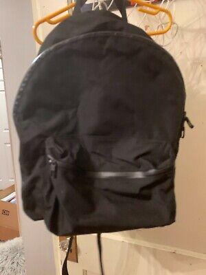 Lululemon Athletica Black Gum School Travel Backpack Bag