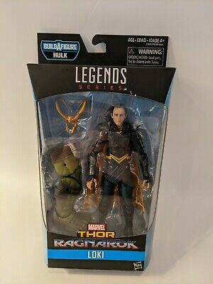 Marvel Legends Series LOKI ~ Hulk Build a Figure Series ~ New in Box