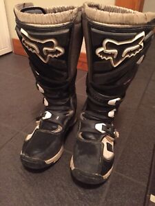 Fox Dirt bike boots.
