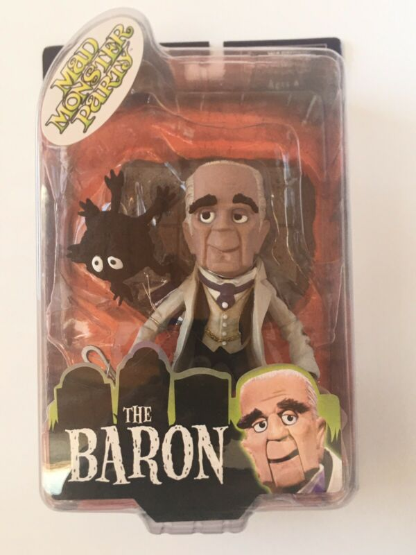 Mad Monster Party The Baron Action Figure New In Box