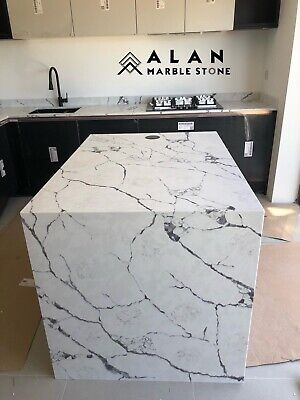 Calacatta Arabesque Quartz kitchen Worktop |Special offer| Save Up to 40 %