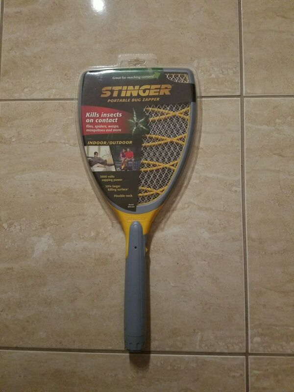 Stinger BKR200 Portable Bug Zap Racket Brand New