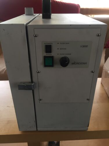 Microstar V3000 dust collector with brand new motor made in Germany
