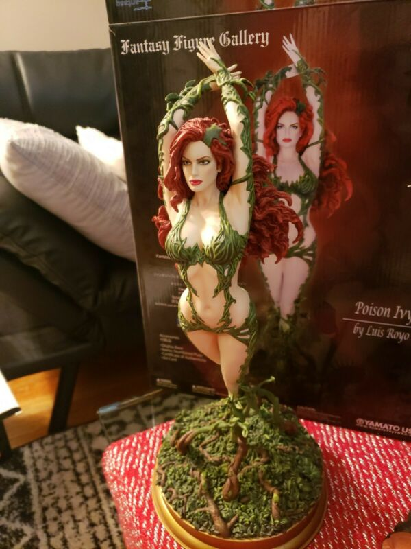 POISON IVY Yamato Fantasy Figure Gallery DC Collection Painted Resin Statue