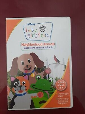 Walt Disney Baby Einstein DVD Neighborhood Animals - Good