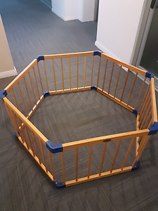 Jolly Kidz wooden playpen East Perth Perth City Area Preview