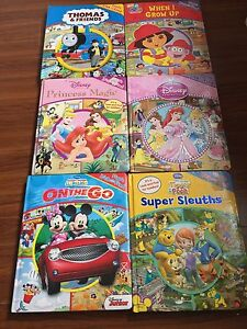 6 First Look and Find Disney books - great Christmas gift! Kitchener / Waterloo Kitchener Area image 1